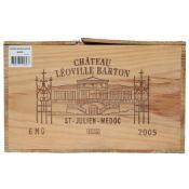 CHATEAU LEOVILLE BARTON St Julien -Medoc 2005, 6 magnums Sealed in original pine crate, held in bond