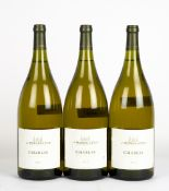 THREE MAGNUMS OF CHABLIS MOREAU 2015 At present, there is no condition report prepared for this
