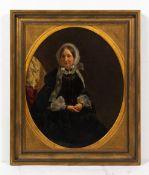 EDWIN WILLIAMS (c.1810-c.1880) Portrait of Mrs Henry Boyce, nee Mary Anne Jacob, b.1790, oil on
