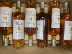 SIX BOTTLES OF UROULAT JURANCON 1999 CHARLES HOURS At present, there is no condition report prepared