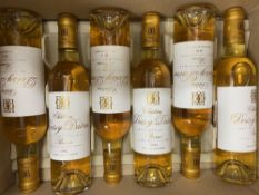 SIX BOTTLES OF HALVES DOISY DAENE 2012 BARSAC At present, there is no condition report prepared