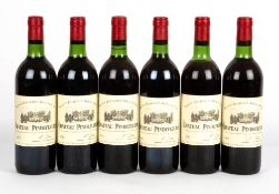 SIX BOTTLES OF CHATEAU PINDEFLEURS 1983 SAINT EMILION GRAND CRU At present, there is no condition