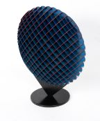 RICHARD CRESSWELL (LATE 20TH / EARLY 21ST CENTURY ENGLISH SCHOOL) 'Pebble', coloured anodised