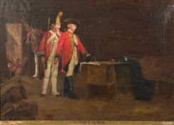GEORGE HERBERT JUPP (1869-1925) 'The Spirit of the Brave', oil on canvas, signed lower left, 60cm