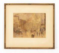 MATTHEW JAMES MACNALLY (1874-1943, AUSTRALIAN SCHOOL) A Winter Impression, watercolour and