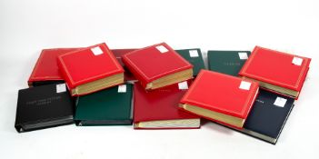 A LARGE COLLECTION OF FIRST DAY COVERS in thirteen albums ranging from 1937 Coronation to 2021 and