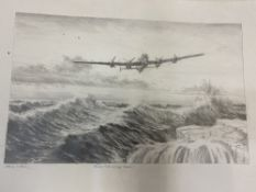 SIMON W. ATACK A folder of drawings and sketches to include 'From Hell to High Water', a Lancaster