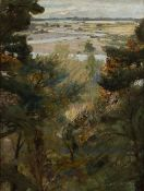 James Elder Christie (1847-1914) 'The winding Nairn' oil on canvas, signed lower right, 39cm x 29cm