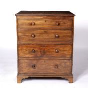 Mahogany fall front side cupboard with one deep drawer and one dummy drawer, 60cm across, 45cm deep,