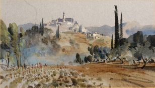 John Barrie Haste (1931-2011) three watercolours, the largest signed lower left and dated '74,