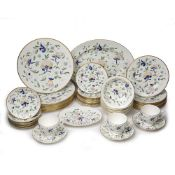 Coalport 'Pageant' part dinner service to include: plates, bowls, cups etc