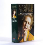 Margaret Thatcher 'The Collected Speeches' Edited by Robin Harris signed book