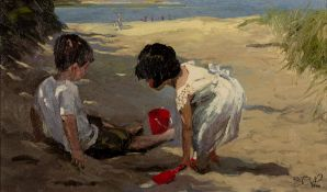Sherree Valentine Daines (b.1959) 'Shady retreat' limited edition canvas print, numbered 53/195,
