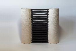 Gillian Montegrande (b.1960) 'Castilla' stoneware, signed to the base, 30.5cm x 28cm x 9.5cm