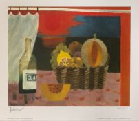 Mary Fedden (1915-2012) 'Red Sunset' 1994, signed print, edition number 340/500, blind stamp lower