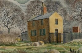 Douglas Percy Bliss (1900-1984) 'Untitled' watercolour, signed and dated 1929 lower left, 31cm x