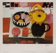 Mary Fedden (1915-2012) 'The Orange Mug' 1996, signed print, edition number 492/550, blind stamp