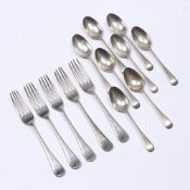 Collection of silver forks and spoons all bearing marks for Cooper Brothers & Sons Ltd, Sheffield