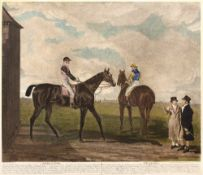After Benjamin Marshall (1767-1835) Filho da Puta and Sir Joshua, coloured engraving, engraved by