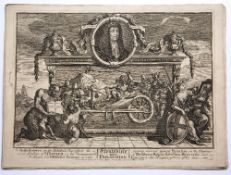 Robert Sayer after William Hogarth group of 18th Century prints, 29cm x 39cm Condition: some worn
