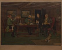 Cecil Aldin (1870-1935) 'The Connoisseurs' print, unsigned, 46cm x 54cm Condition: overall scuffs