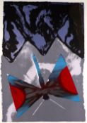 Michael Rothenstein (1908-1993) Butterfly signed and inscribed in pencil monotype screenprint 112
