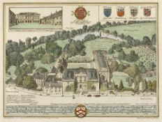 EDMUND HORT-NEW (pubs) 'Worcester College, Oxford', photo engraving by Emery Walker, hand-