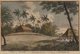 THORNTON AFTER JOHN WEBBER 'View of Afiatooka, or Burying-Place, in Tongataboo', and another similar