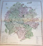 SMITH'S ENGLISH ATLAS Fifteen engraved maps, Second Edition corrected to 1808, counties to include