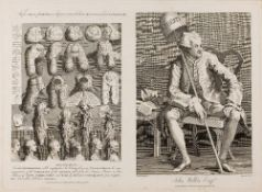 THOMAS COOK AFTER WILLIAM HOGARTH (1697-1764) 'The Five Orders of Perriwigs' as they were worn at
