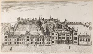 HENRY WINSTANLEY 'A General Prospect of the Royal Palace of Audlyene seen from the Mount Garden',