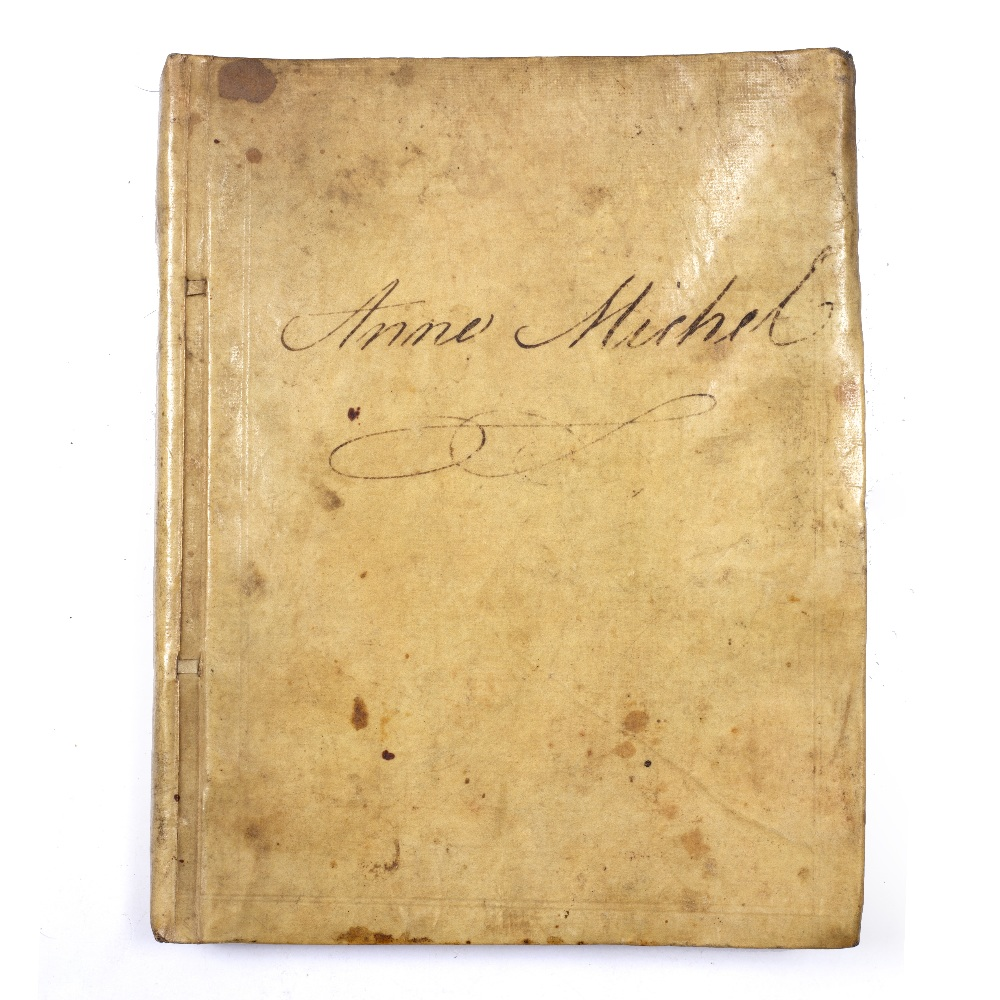 COOKERY: A late 18th Century manuscript recipe book written in black ink in a good long hand with - Image 2 of 3