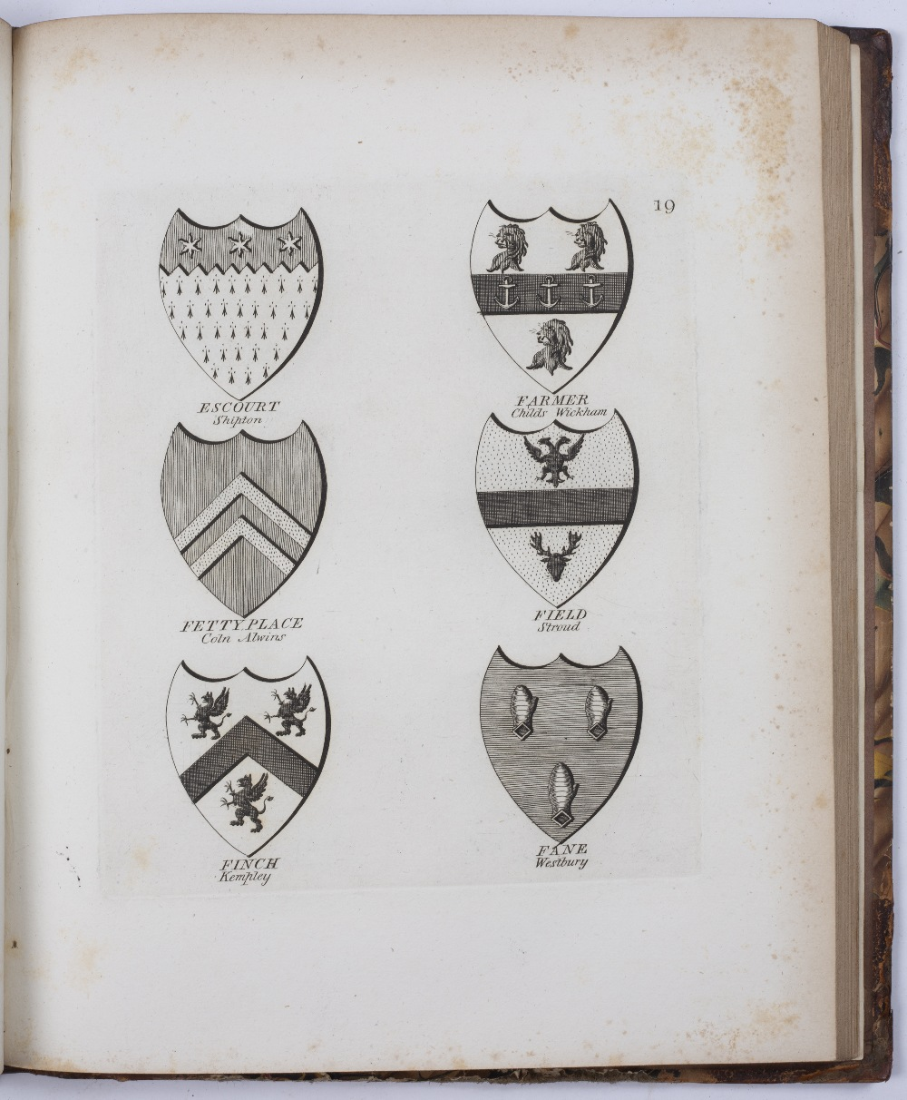 GOOD, J, (Printer). 'A Collection of Coats of Arms Borne by the Nobility and Gentry of the County of - Image 4 of 5