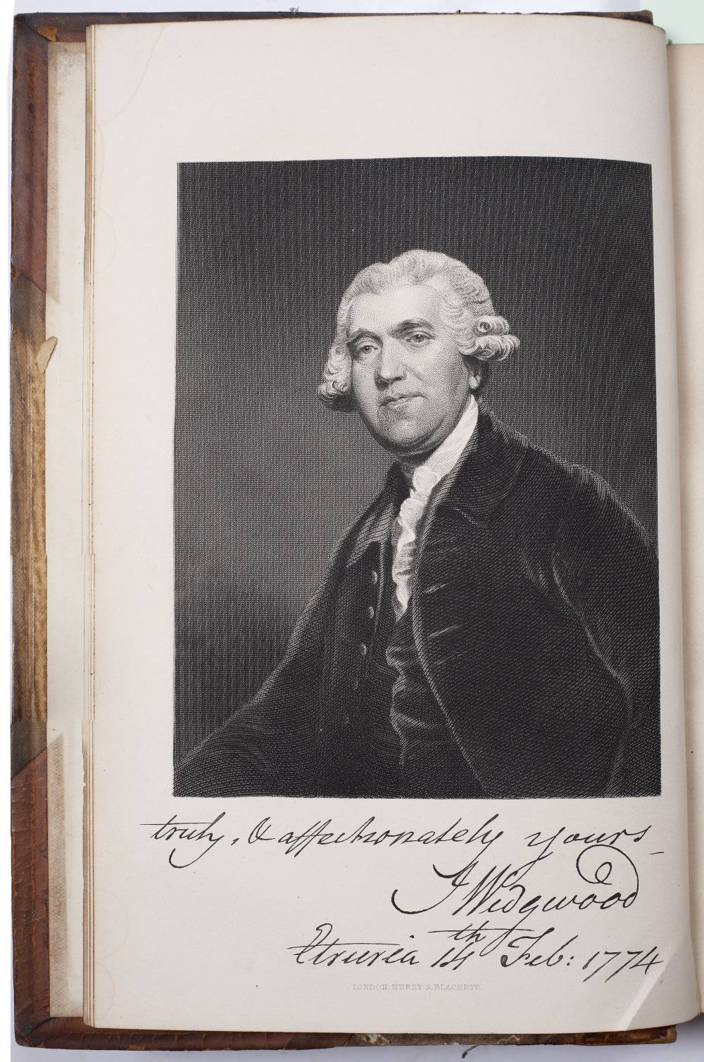 METEYARD, Eliza, 'The Life of Josiah Wedgwood from his Private Correspondence and Family Papers'. - Image 2 of 6