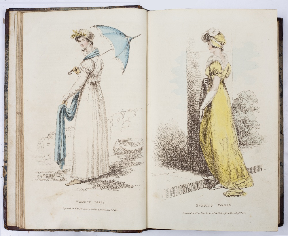 'LA BELLE ASSEMBLÉE being Bell's Court & Fashionable Magazine addressed particularly to Ladies'' Vol - Image 3 of 4