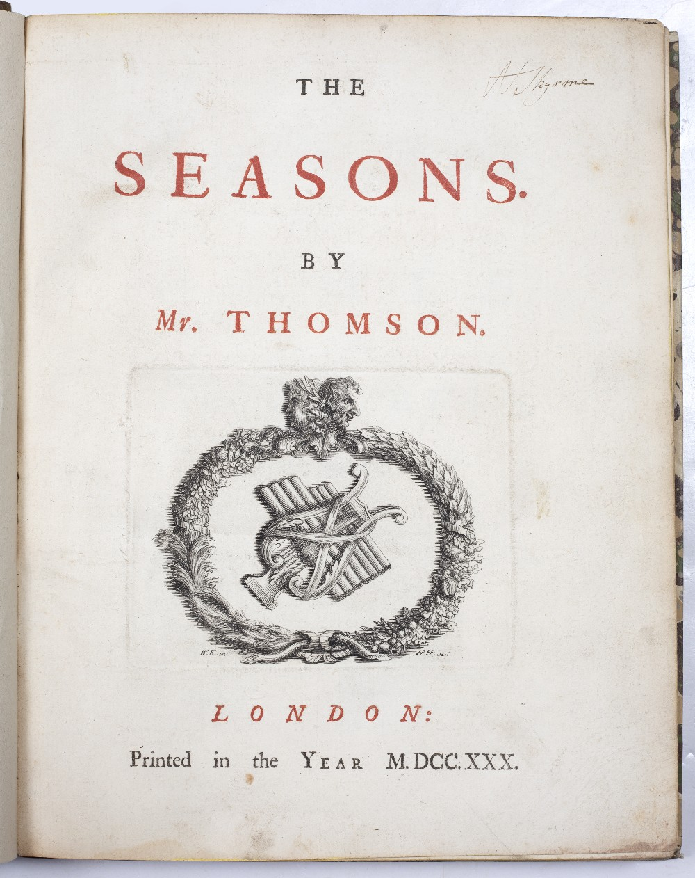 COWLEY, Abraham (1618-1667), English poet The Works thereof printed by J.M. for H Herringman, New - Image 3 of 4