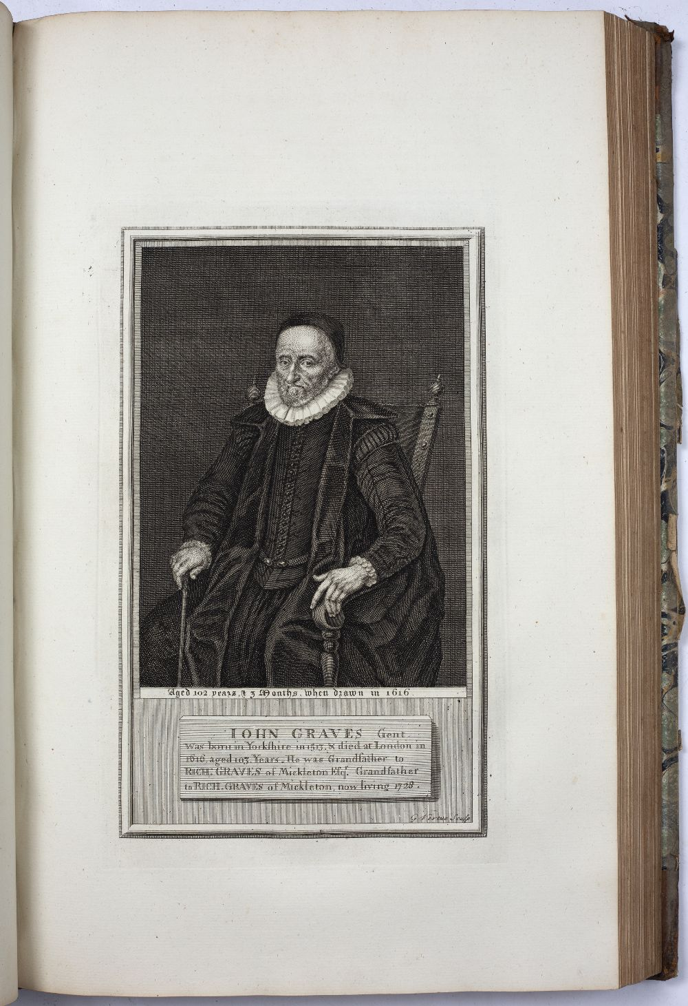 NASH, Treadway Russell (1724-1811) English Clergyman and Antiquarian Collections for the History - Image 6 of 6