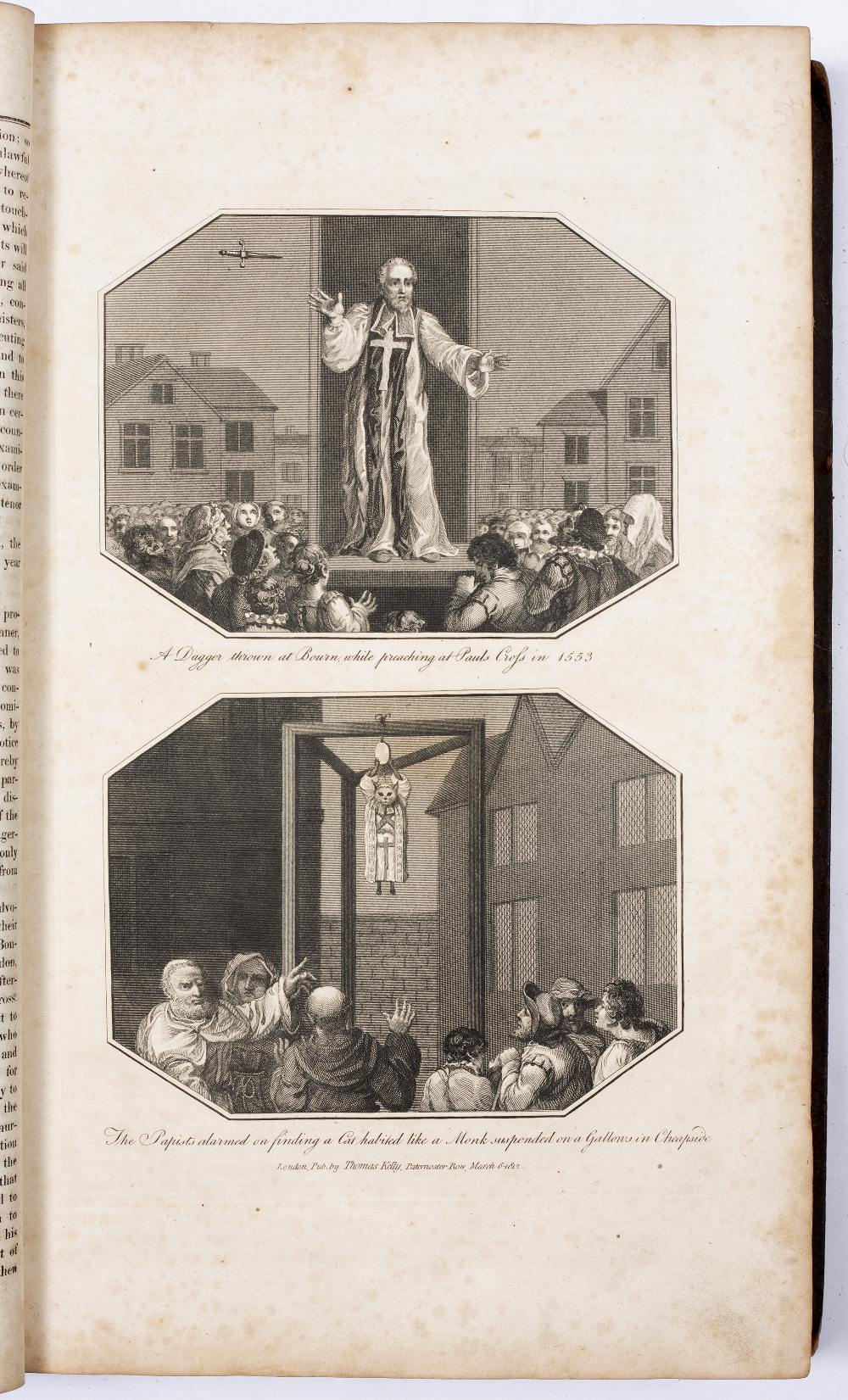 FOX, The Rev. John, The Book of Martyrs. Thomas Kelly, London 1811. Fo. plates throughout. - Image 2 of 3