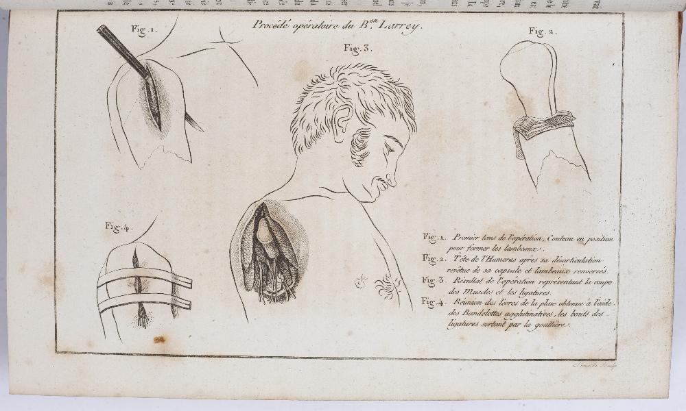BIRON and FOURNIER, Eds. Journal de Médecine de Chirurgie et de Pharmacie Militaires. 10 vols. - Image 3 of 3
