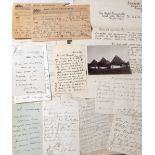 A MARBLED FILE entitled Colonel F.W. Rhodes (Private Papers) containing a Petition to Cecil Rhodes