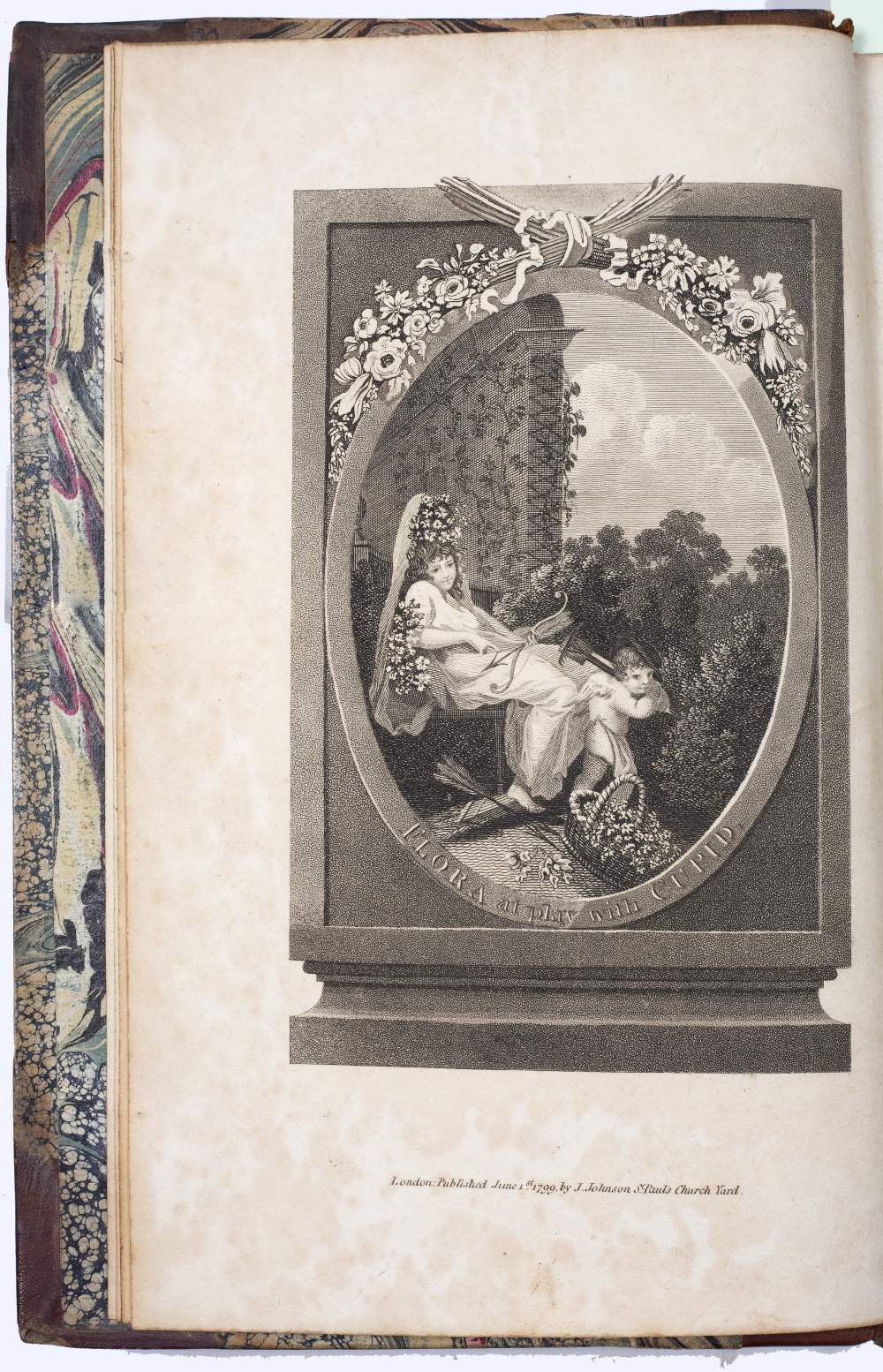 DARWIN, Erasmus (1731-1802), Philosopher and Physician 'The Botanic Garden' A Poem in Two Parts. - Image 5 of 7