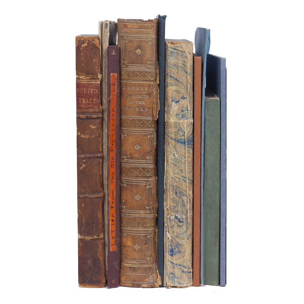 A COLLECTION OF TEN POLITICAL AND RELIGIOUS PAMPHLETS, TRACTS ETC: 18th/19th Century variously bound