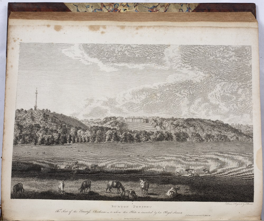 SOMERSET:- COLLINSON, Rev. John, The History and Antiquities of the County of Somerset. 3 vols. 4to. - Image 5 of 5