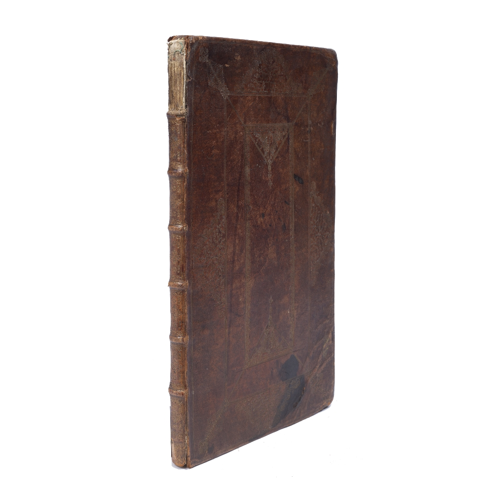 AN 18TH CENTURY PRAYER BOOK containing The Collects, Epistles and Gospels, to be used throughout the - Image 2 of 2