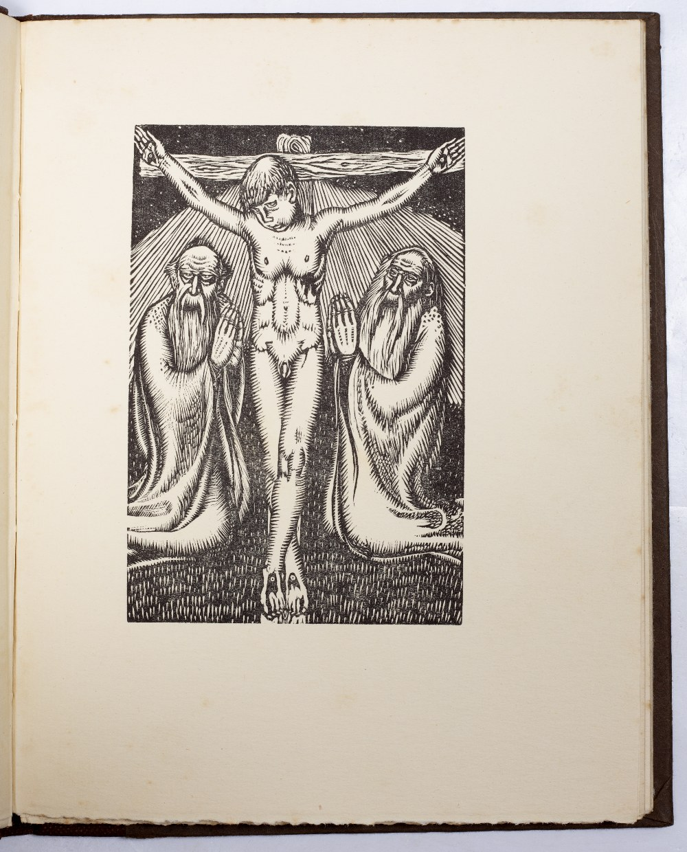 CHUBB, Ralph Nicholas (1892-1960), English Poet and Printer Songs of Mankind decorated with wood - Image 5 of 5