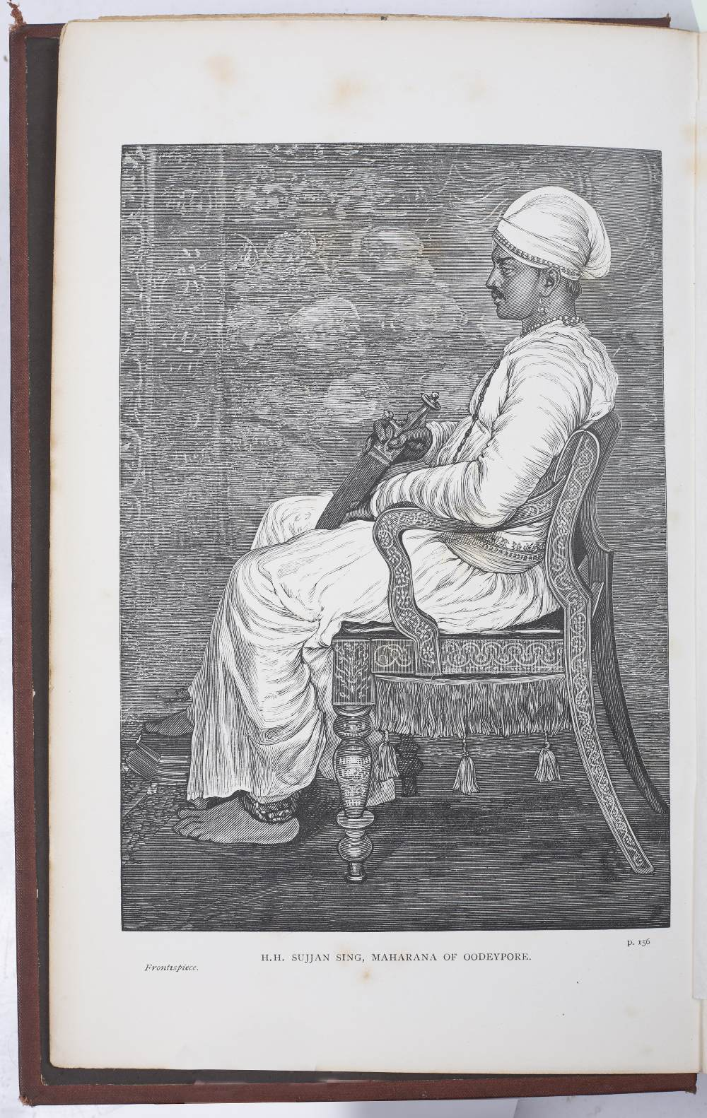 PRINSEP, Valentine Cameron, Artist and Writer (1838-1904) 'Imperial India'. 2nd Ed. revised. Chapman