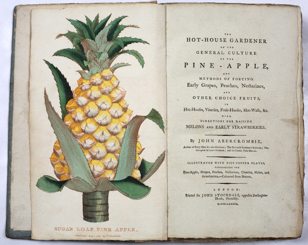 ABERCOMBIE, John, The Hot House Gardener on the General Culture of the Pine-apple and Methods of - Image 2 of 3