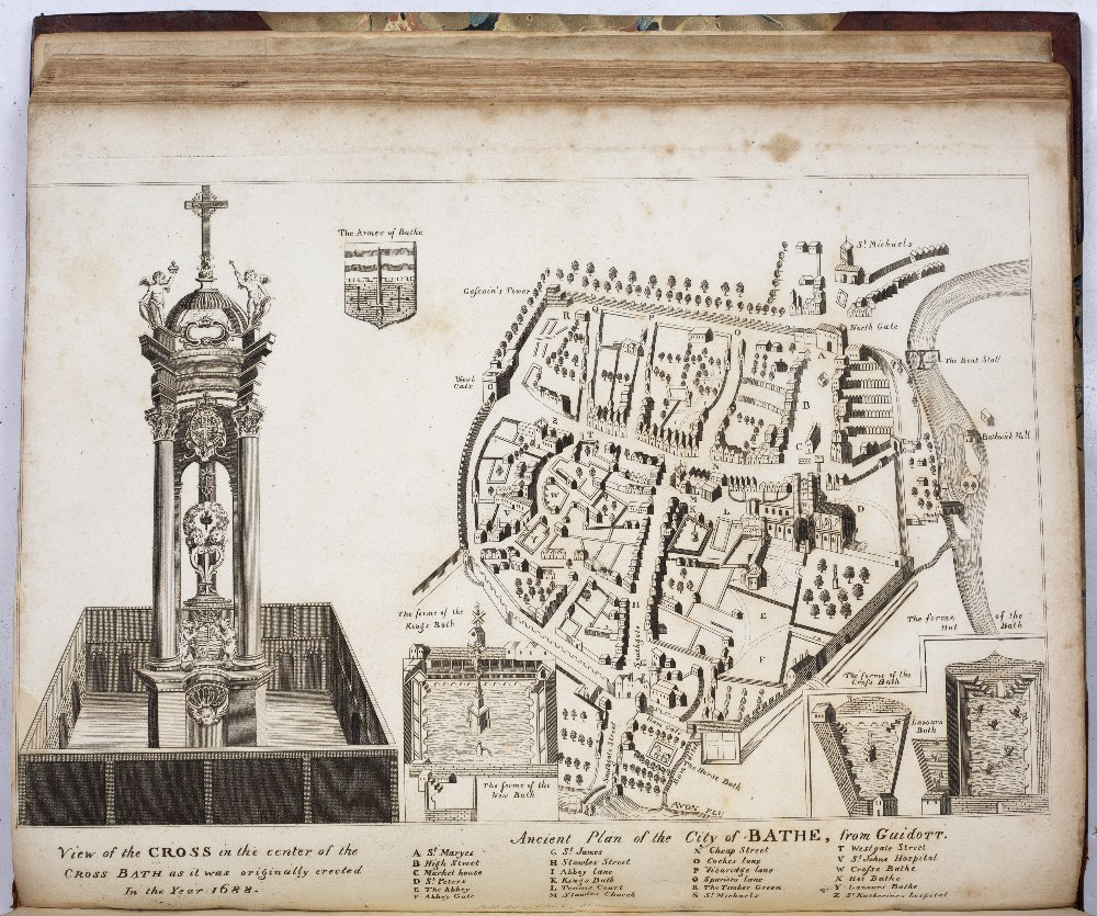 SOMERSET:- COLLINSON, Rev. John, The History and Antiquities of the County of Somerset. 3 vols. 4to. - Image 3 of 5