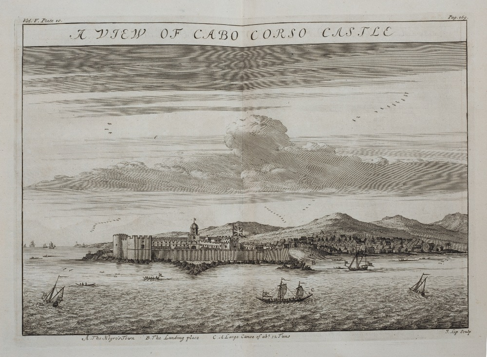 OSBORNE, Thomas, (Ed) 'A Collection of Voyages & Travels some now first printed from Original - Image 9 of 9