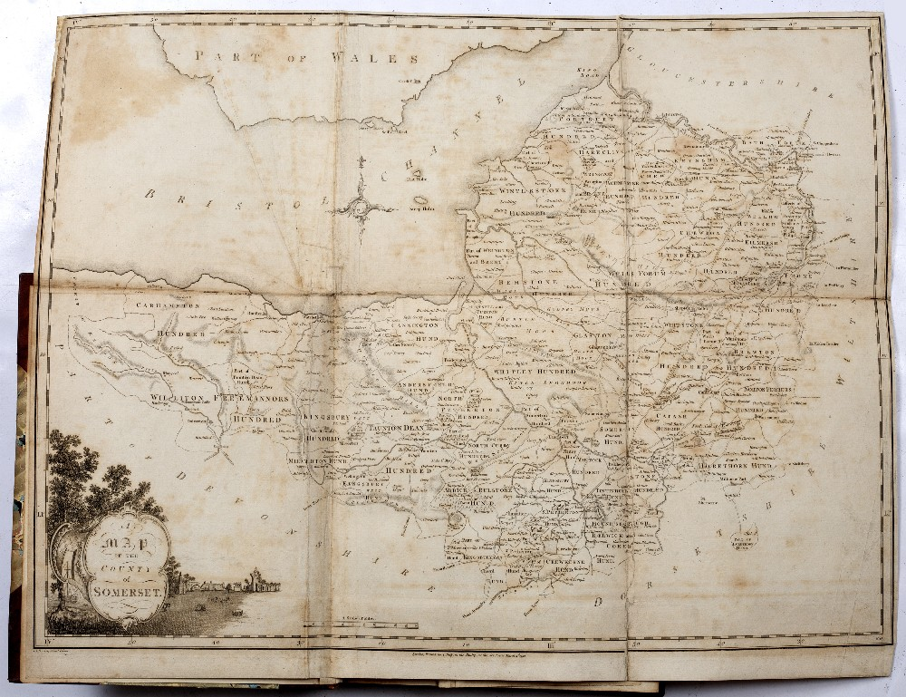 SOMERSET:- COLLINSON, Rev. John, The History and Antiquities of the County of Somerset. 3 vols. 4to. - Image 2 of 5
